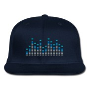 Music-Equalizer-Baseball-Cap